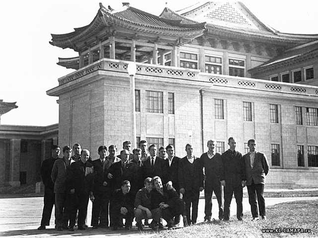 pyongyang novembre 1960 kyryla